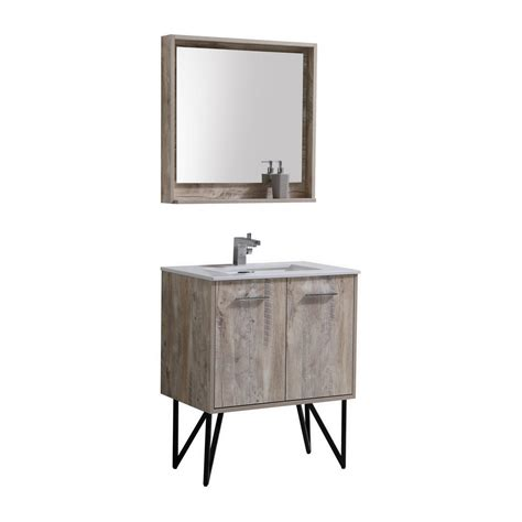 forest  modern bathroom vanity  quartz countertop