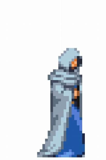 Walk Sypha Pixel Animation