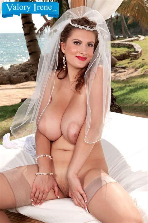 Valory Irene Is The Horny Bride Curvy Erotic