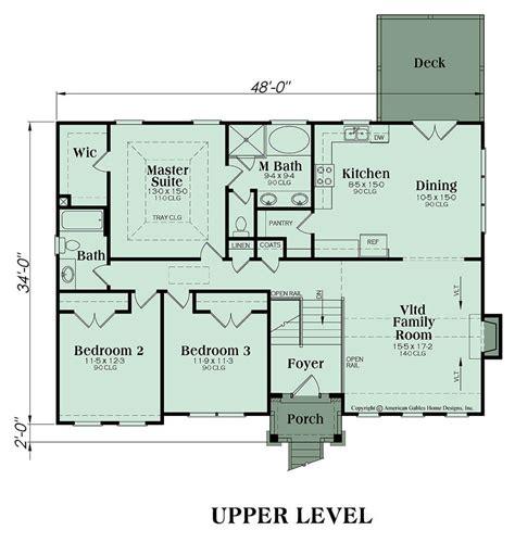 Split Foyer Floor Plans by Split Foyer Plan 1678 Square 3 Bedrooms 2