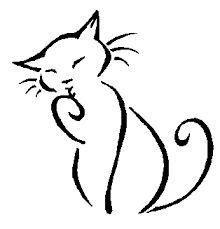 Blogdessincreation voici un tutoriel simple et efficace, où. Image result for simple lines drawing   Kitty Art   Dessin chat, Illustration de chat et ...