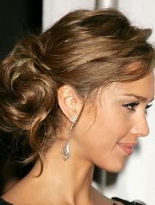 Chignon Cheveux Mi Long : chignon cheveux mi long soir e ~ Melissatoandfro.com Idées de Décoration