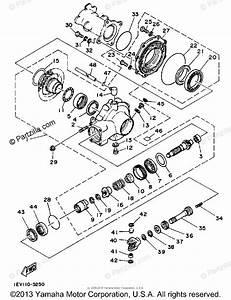 Yamaha Atv 1986 Oem Parts Diagram For Drive Shaft