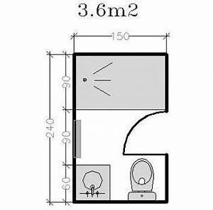 Plan Petite Salle De Bain : plan pour salle d 39 eau et petite salle de bains de 2 5m ~ Melissatoandfro.com Idées de Décoration