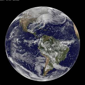 Earth from Space: Powerful Winter Storm Pax, 2014, by NASA ...