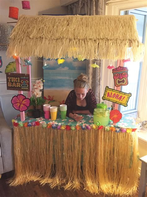 Make A Tiki Bar by Diy Tiki Bar Decorating Tips Luau Hawaiian Luau