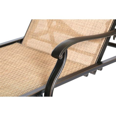 monaco sling back chaise lounge chair monchs