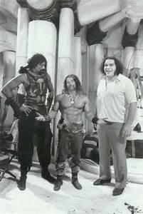 Wilt Chamberlain, Arnold Schwarzenegger and Andre the ...