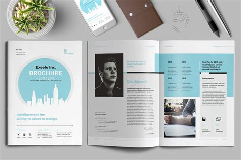 Best Brochure Template 25 Best Professional Brochure Templates