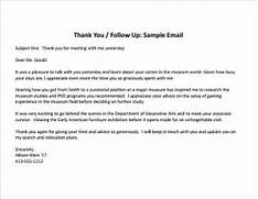 Sample Thank You Note After Interview 9 Free Documents Work From Home Request Sample Thank You Note After Interview 7 Documents In Sample Informational Interview Email Apps Directories