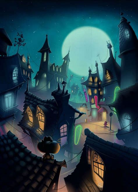 Background animation movie on Behance