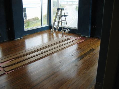 what of flooring can i put concrete can i install wood flooring over concrete
