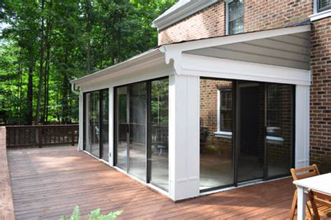 open er up converting a sunroom into a veranda