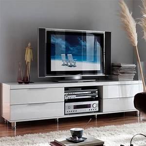 Lowboard Hochglanz Weiß : tv lowboard albora in wei hochglanz ~ Buech-reservation.com Haus und Dekorationen