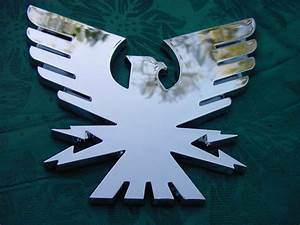 formula thunderbird boat emblem 2bird chrome 2side With formula boat letters
