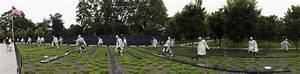The Korean War Veterans Memorial Lies In The Shadow Of The ...