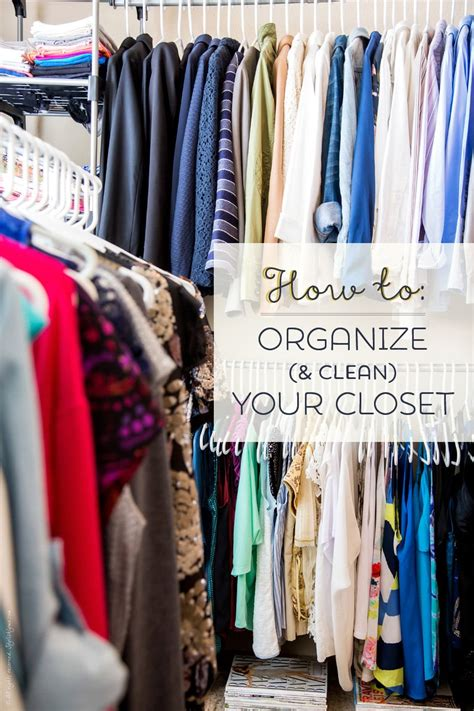 How To Organize A Clothes Closet by How To Organize Your Closet In 5 Simple Steps Free Pdf