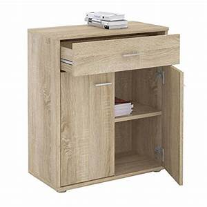 Kleiner Schreibtisch Mit Schublade : kleiner schrank in sonoma eiche mit 1 schublade und 2 t ren ~ Markanthonyermac.com Haus und Dekorationen