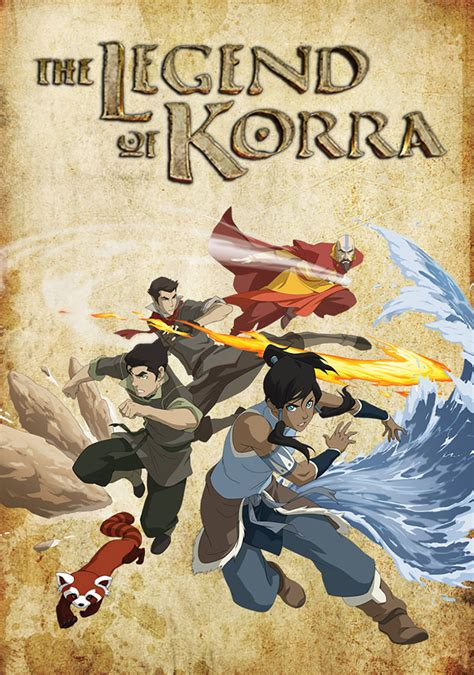 The Legend Of Korra  Tv Fanart Fanarttv
