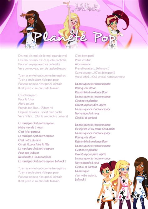 secrets et paroles lolirock