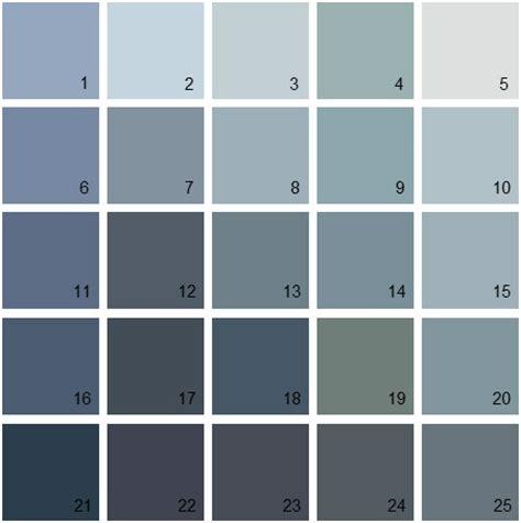benjamin paint colors blue palette 18 house
