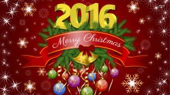 merry and a happy 2016 wallpaper wallpapers 3523