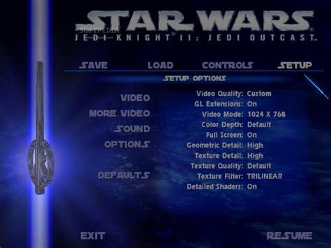 Star Wars Jedi Knight Ii Jedi Outcast Demo Download