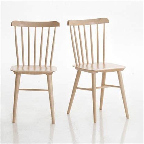 chaise de bureau la redoute chaise en hêtre am pm la redoute maison