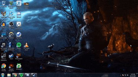 Witcher 3 Desktop Background Wallpaper Engine Gifs Search Find Make Share Gfycat Gifs