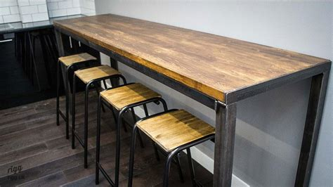 industrial high top table vintage industrial high table