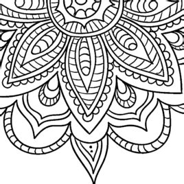 Simple Adult Coloring Pages at GetColorings com Free