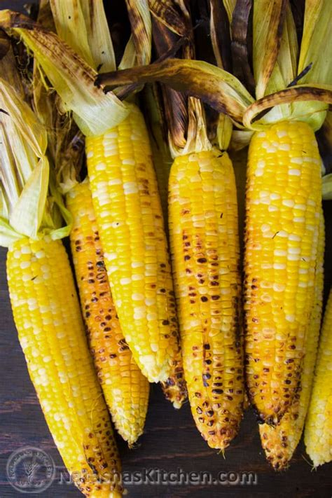 grilled corn     garlic lime butter