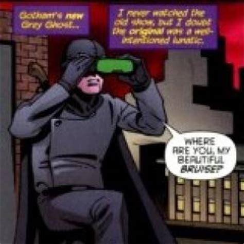 gray ghost enemies comic vine