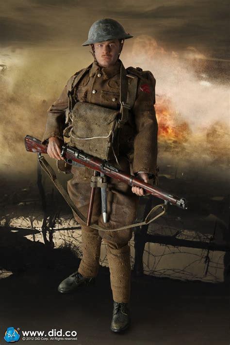 sixth military figure  corp british infantry