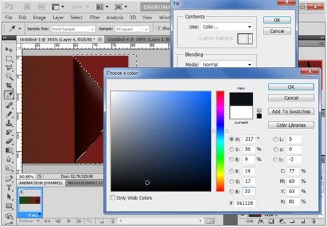 color fill photoshop how to ensure that paint tool fills region with