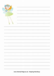 fairy tale writing paper printable pdf