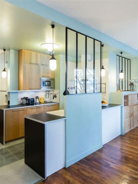 verriere separation cuisine une verrière dans la cuisine pour une déco rétro style atelier
