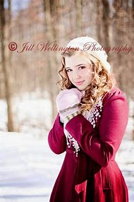 Winter Senior Portrait Photography