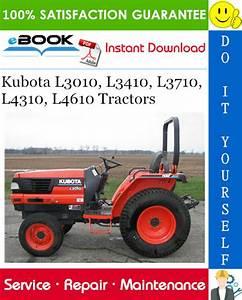 Kubota L3010  L3410  L3710  L4310  L4610 Tractors Service