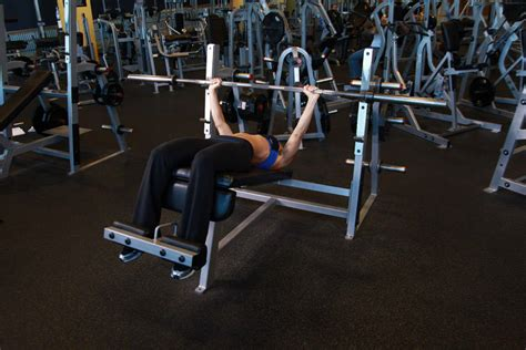 wide grip bench press wide grip decline barbell bench press exercise guide and