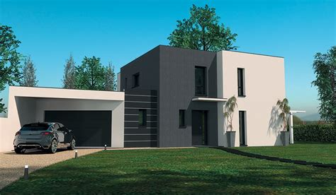 plans de maison plain pied 3 chambres maison contemporaine à étage 160 m 4 chambres