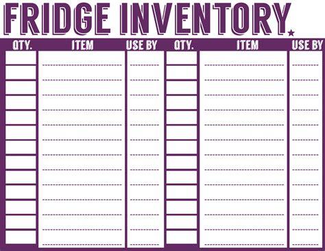 printable menu planner shopping list inventory sheets