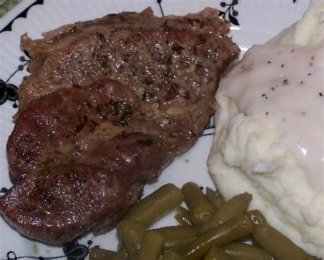Our most trusted beef steak recipes. Pork Blade Steak With Garlic Herb Recipe - Genius Kitchen