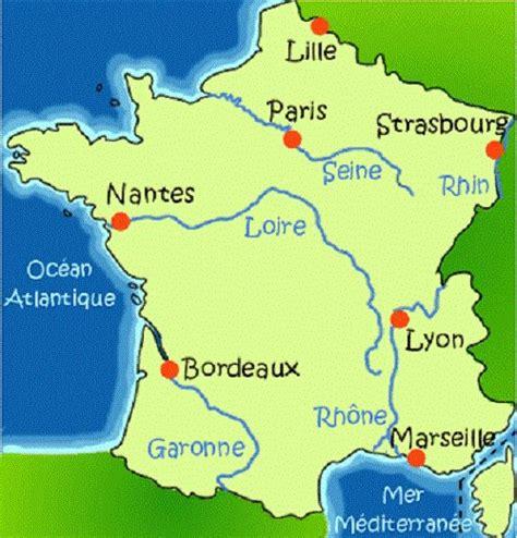 Carte De Avec Fleuves Et Rivières by Carte De La Avec Ses Fleuves Popkensburg
