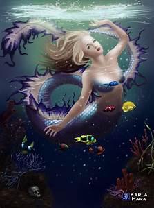 Fantasy mermaid by karlahara on DeviantArt