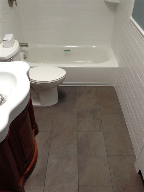 Large Tile  Small Bathroom?  Tiling  Contractor Talk