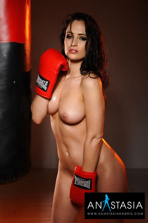 Anastasia Harris Is Stunningly Beautiful Boxing In The