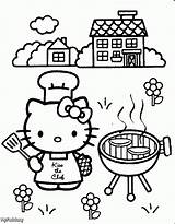 Coloring Pages Cooking sketch template