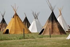 Zelt Der Indianer : tipi zelt selber bauen so gelingt es mit einfachem haushaltszubeh r ~ Watch28wear.com Haus und Dekorationen