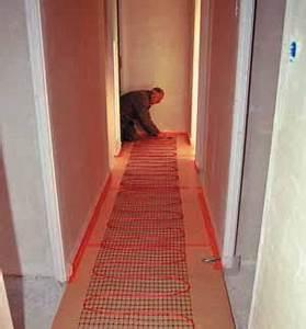 Plancher Rayonnant Electrique : plancher chauffant rayonnant lectrique une chaleur douce ~ Premium-room.com Idées de Décoration